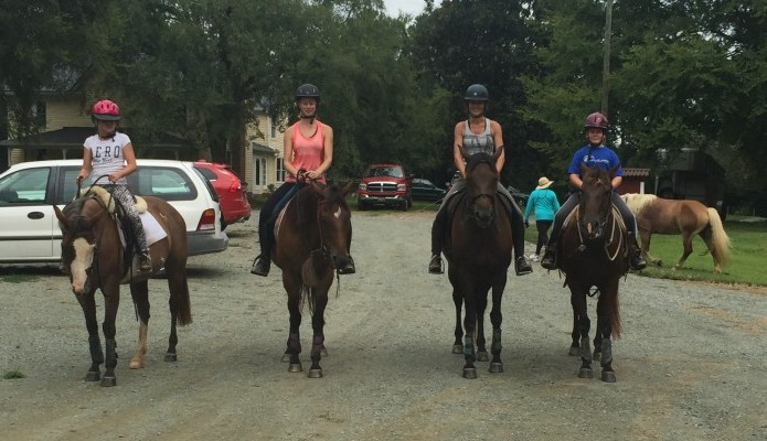 Youth Program at Willow Oak Farm Riding School
